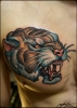 тигруша, за раз,по своему эскизу))
