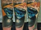 guest artist work in Zoi Tattoo Studio
