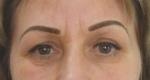 Перманентный макияж бровей. Женщина 59 лет
